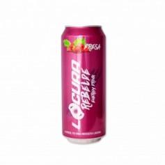 Locura Bebida Energética con Sabor a Fresa - 500ml