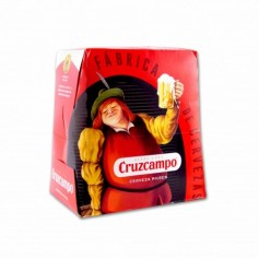 Cruzcampo Cerveza - (6 Unidades) - 150cl