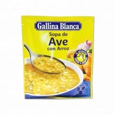 Gallina Blanca Sopa de Ave con Arroz - 80g