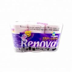 Skin CarePapel Higiénico Plus Perfumado 3 Capas - (6 Rollos)