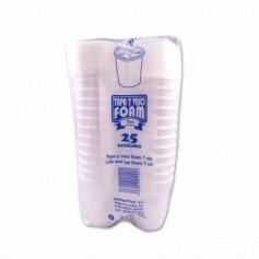 Campisol Vaso y Tapa Foam- (25 Unidades)