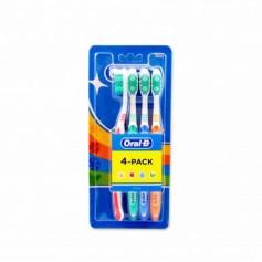 Oral-B Cepillo de Dientes Medio - (4 Unidades)