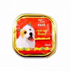 Red Can Paté Rico en Buey Completo para Perros - 300g