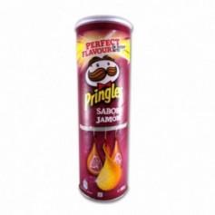 Pringles Patatas Fritas Sabor a Jamón - 165g