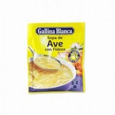 Gallina Blanca Sopa de Ave con Fideos - 76g