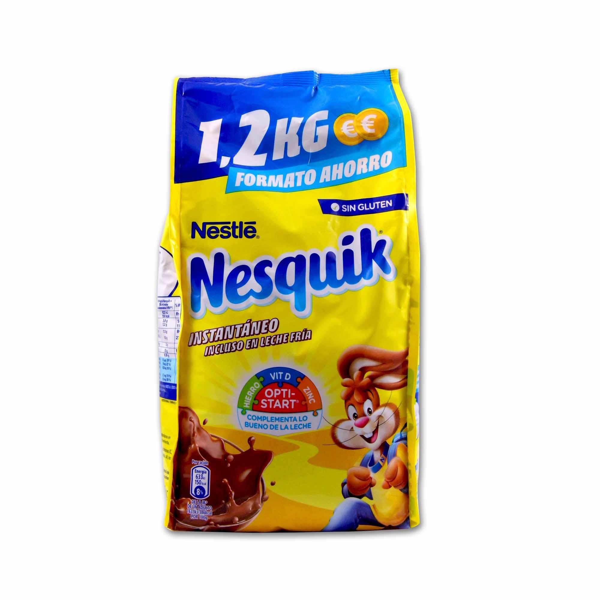 Nesquik Cacao Soluble Instantáneo 1 2kg Cestaclick Es