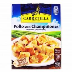 Carretilla Pollo con Champiñones - 250g