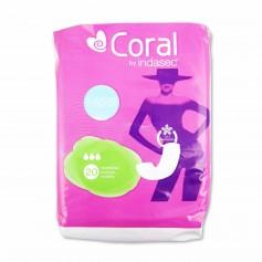 Coral Compresas Classic Normal sin Alas - (20 Unidades)