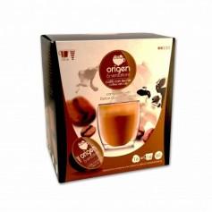 Origen & Sensations Café con Leche Intensidad 2 - (16 Cápsulas Dolce Gusto Compatible) - 160g