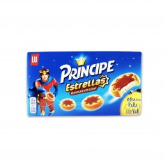Lu Galletas Principe Estrellas Rellenas de Chocolate con Leche - 150g