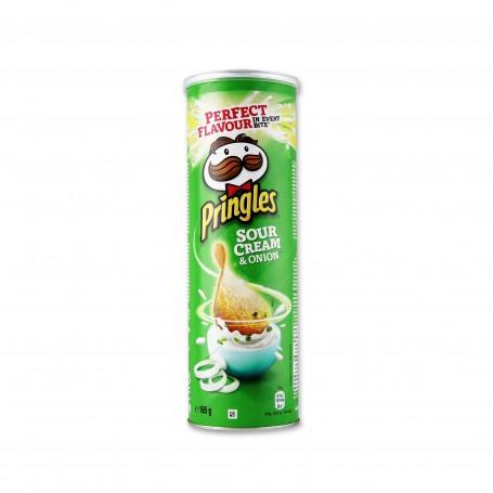 Pringles Patatas Fritas Sour Cream & Onion - 165g