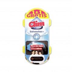 Clim Hogar Estropajo con Esponja Vitro Salvauñas + Antibacterias - 1 Unidad