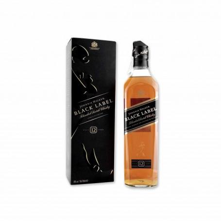 Johnnie Walker Whisky Black Label 12 Años - 70cl
