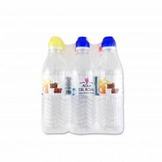 Agua del Rosal Agua Mineral Natural Tapón Sport - (6 Unidades) - 300cl