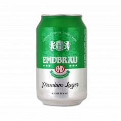 Emdbräu Cerveza Premium Lager - 33cl