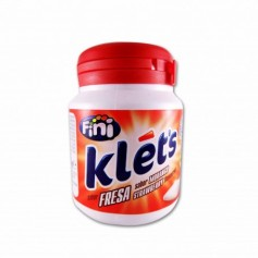 Fini Chicles Klet´s Sabor a Fresa - 100g