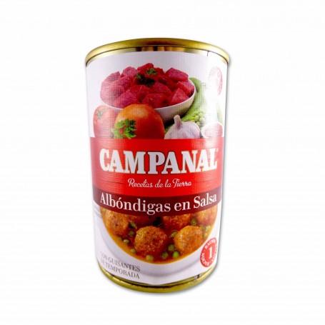 Campanal Albóndigas en Salsa con Guisantes - 425g
