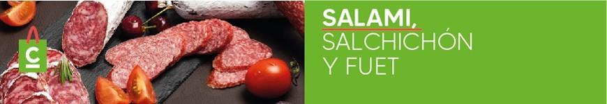 Salami, Salchichón y Fuet